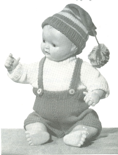 Vintage Dolls Knitting Patterns : Vintage knitted dolls clothes patterns available from The ...