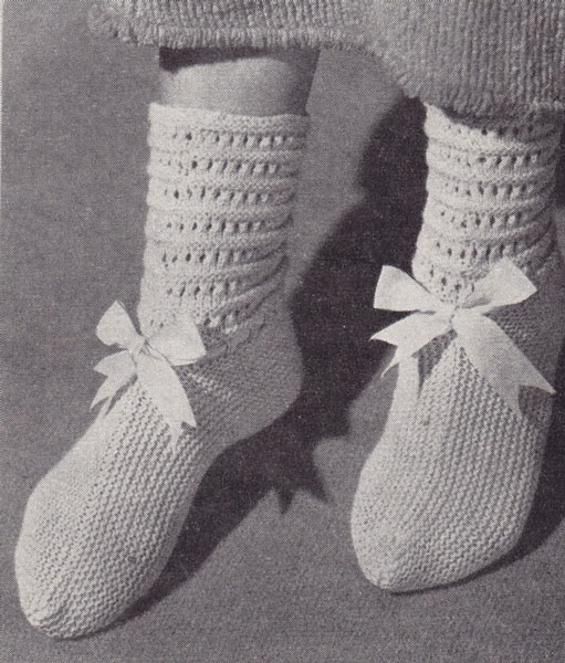 Vintage Hand knitted Gift knitting patterns available from ...