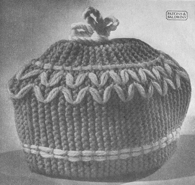 Vintage Tea Cosy Knitting Patterns : vintage tea cosie knitting patterns