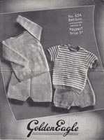 baby rompers set vintage knitting patterns
