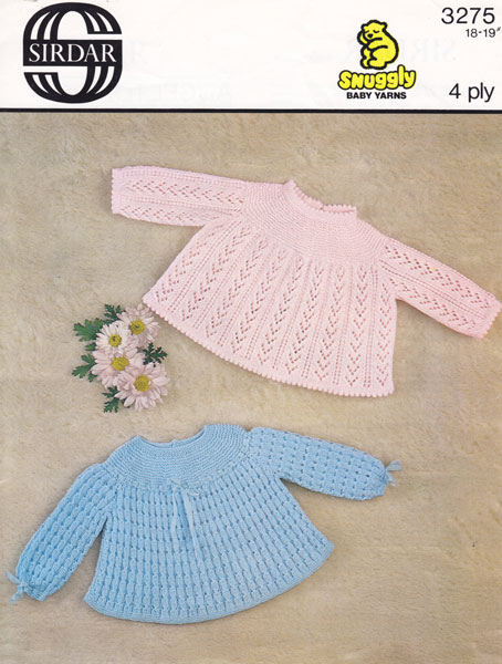 Knitting Pattern Angel Top : Vintage Baby Clothes Knitting Patterns from The Vintage ...