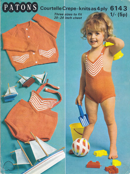 f400432247d50 Babies and Childrens Swimwear Knitting patterns available from The ...