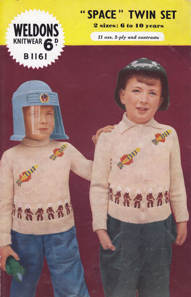 Childrens Picture Knit (Intarsia) knitting Patterns from The Vintage Knitting...