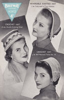 vintage knitting pattern for ladies hats