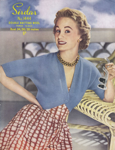 Vintage Ladies knitting patterns available from The ...