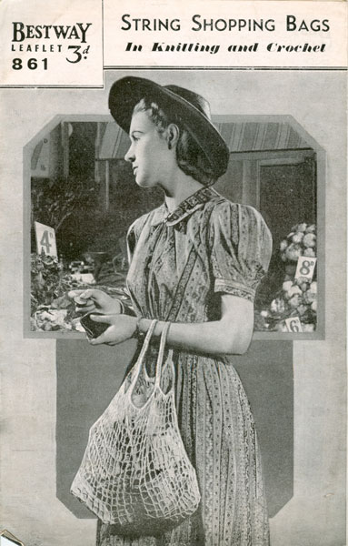 Old Knitting Lady : Vintage ladies knitted bag knitting patterns available