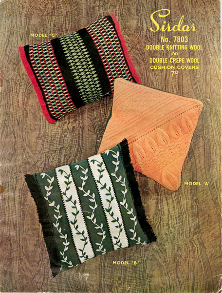 Knitting Vintage Things : Vintage household items knitting patterns available from