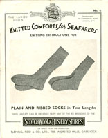 vintage sock knitting patterns