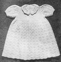 vintage 1940s layette for baby knitting pattern