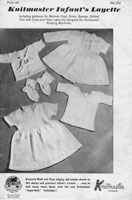 vintage babies layette knitmaster vintage knitting machin pattern 1950s