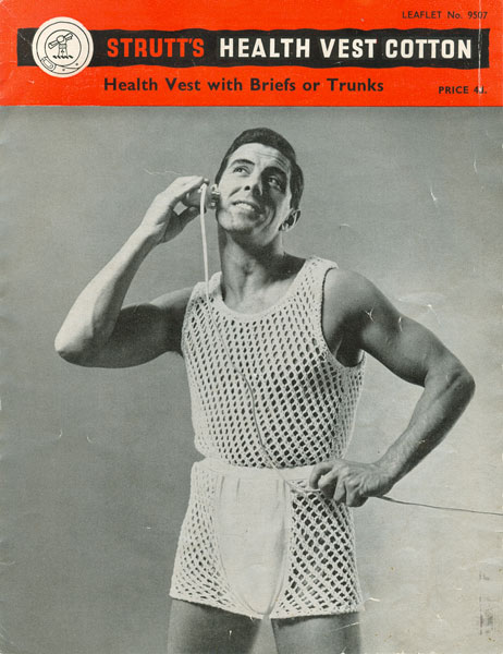 Knitting Pattern For Underwear : Mens Knitted Underwear patterns available from The Vintage Knitting Lady