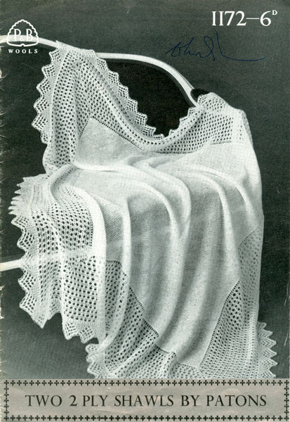 Patons Crochet Baby Shawl Patterns : Hand Knitted Shawls, Covers and blankets knitting patterns ...