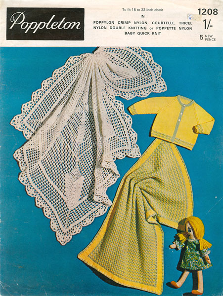 Vintage Shawl Knitting Patterns : Hand Knitted Shawls, Covers and blankets knitting patterns available from The...