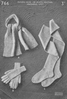 vintage ladies stocking knitting pattern 1940s