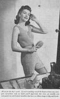 vintage ladies vest and knickers knitting pattern 1940s