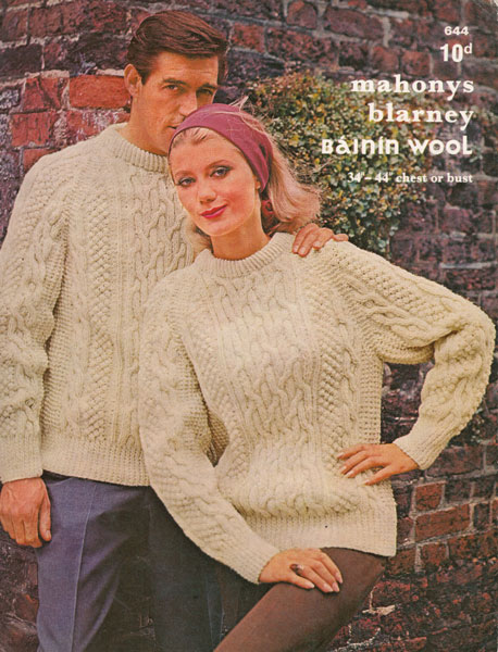 Vintage Aran knitting patterns available from The Vintage ...