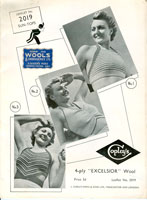 vintage ladies swimwear