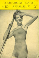 vintage ladies swimsuit