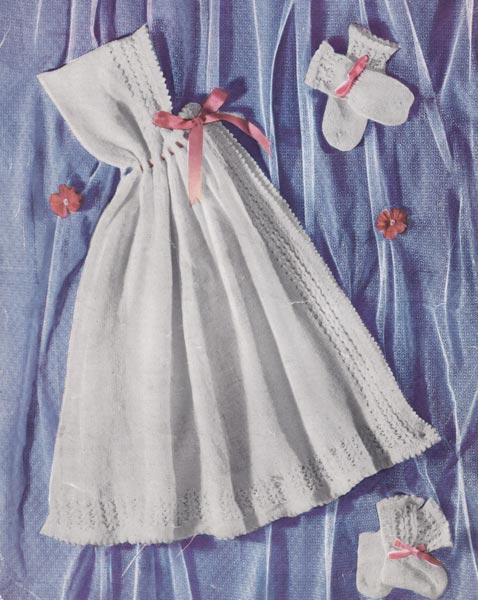 Vintage Baby Capes and Ponchos Knitting Patterns from The Vintage Knitting Lady