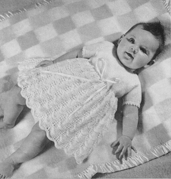 Girls Free Knitting Patterns : Vintage Baby Clothes Knitting Patterns from The Vintage Knitting Lady