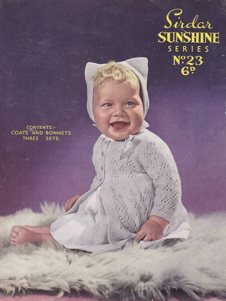 Old Sirdar Knitting Patterns : Vintage Baby Clothes Knitting Patterns from The Vintage Knitting Lady