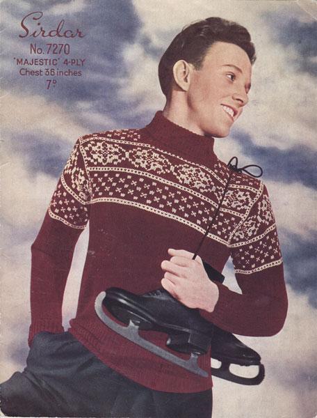 Wool Dog Sweater