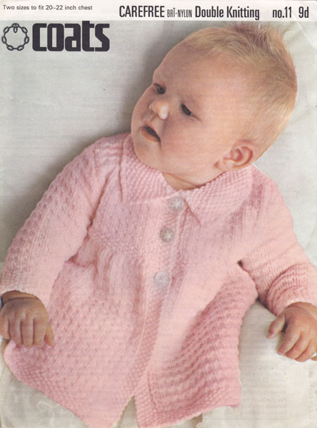 Matinee Coat Knitting Patterns Free Baby Matinee Coat Knitted