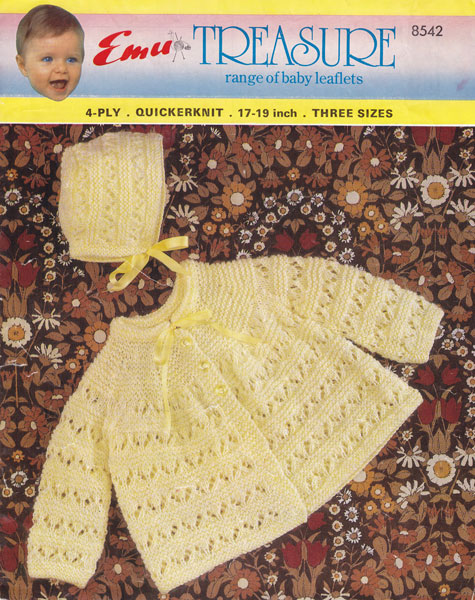 Vintage Knitting Patterns For Babies : Vintage Baby Clothes Knitting Patterns from The Vintage ...