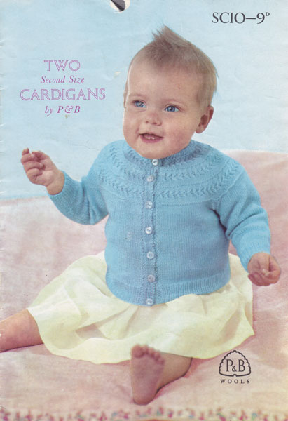 Vintage Baby Clothes Knitting Patterns from The Vintage ...