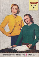 vintage ladies fuller figure knitting patterns