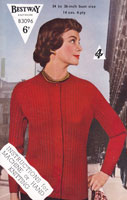 vintage ladies jumper 1940s knitting patterns