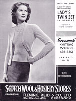 vintage ladies 1950s knitting patterns jumper