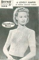 bestway vintage knitting patterns for ladies jumper