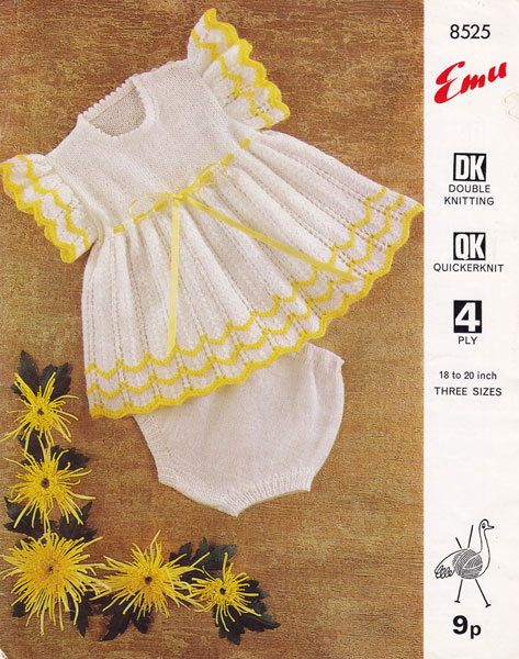 Vintage Knitting Patterns For Baby : Vintage Baby Clothes Knitting Patterns from The Vintage Knitting Lady