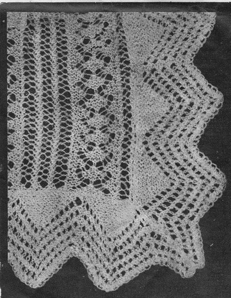 Vintage Shawl Knitting Patterns : vintage shawl knitting patterns