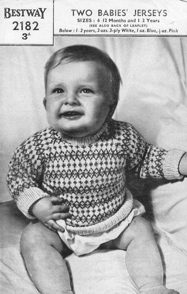 Fair Isle Infant Knitting Patterns] Free Free Fair Isle Baby ...