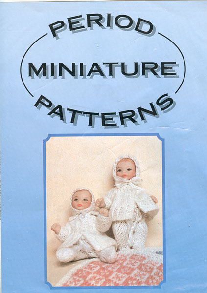 Knitting Patterns For Dollhouse Dolls : Vintage knitted dolls house dolls clothes patterns available from The Vintage...