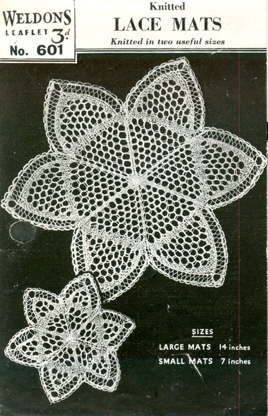 Knitting Household Items : Vintage household items knitting patterns available from
