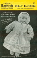 vingtage doll knitting patterns