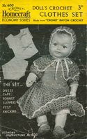 vintage crochet dolls patterns