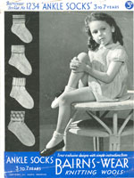 Knitted Socks and Stockings Vintage Knitting Patterns