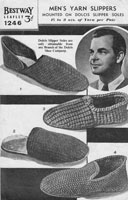 Knitted Slipper and Sandal Vintage Knitting Patterns