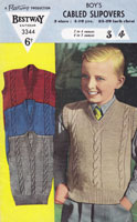 Boys Knitted Clothes Vintage Knitting Pattern
