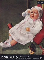 Baby Layette Vintage Knitting Pattern