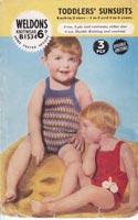 Baby Knitted Swimwear Vintage Knitting Pattern