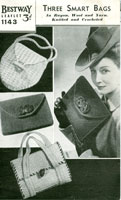 vintage hats gloves and bags knitting patterns