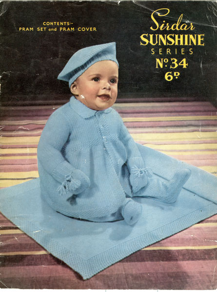 vintage baby clothes knitting patterns from the vintage