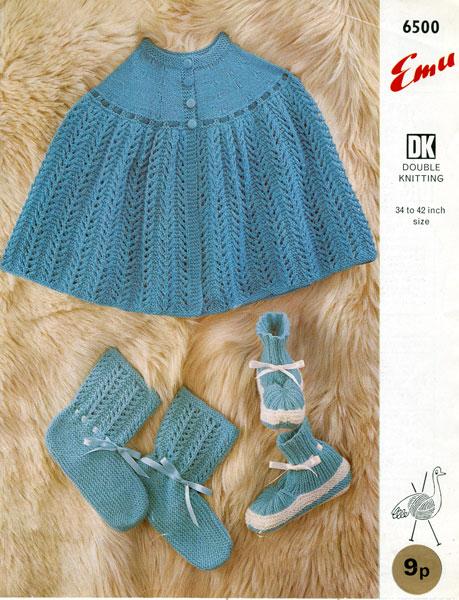 Vintage Bed Jacket Knitting Pattern : Vintage Bed Jacket and Bedwear Knitting Patterns from The Vintage Knitting Lady
