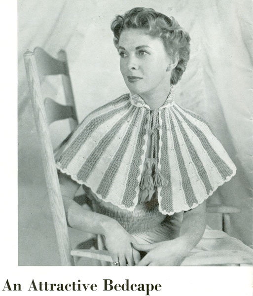 Bed Jacket and Bedwear Vintage Knitting Patterns from The Vintage Knitting Lady