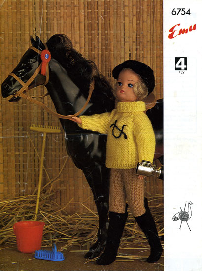 Knitting Patterns For Sindy Dolls : Action Man and Barbie Vintage Knitting Patterns from The ...